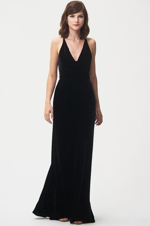Sullivan Bridesmaids Dress by Jenny Yoo - Black