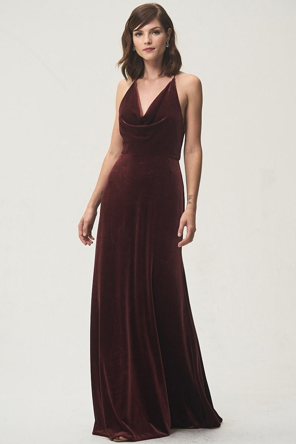 Sullivan Bridesmaids Dress by Jenny Yoo - Dark Berry