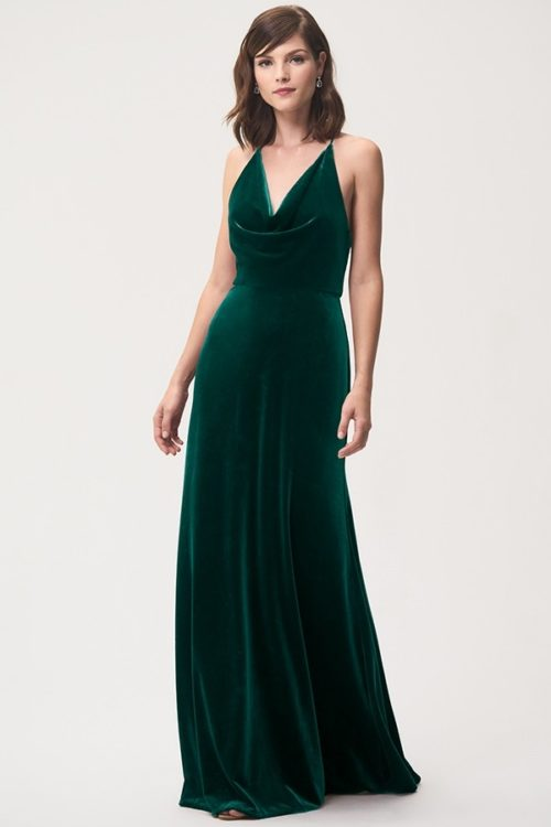 Sullivan Bridesmaids Dress by Jenny Yoo - Emerald