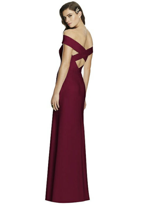 Azalea Cabernet Bridesmaids Dress by Dessy