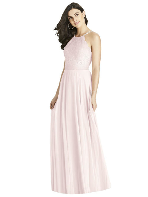 Blush Pink Bridesmaids Dress