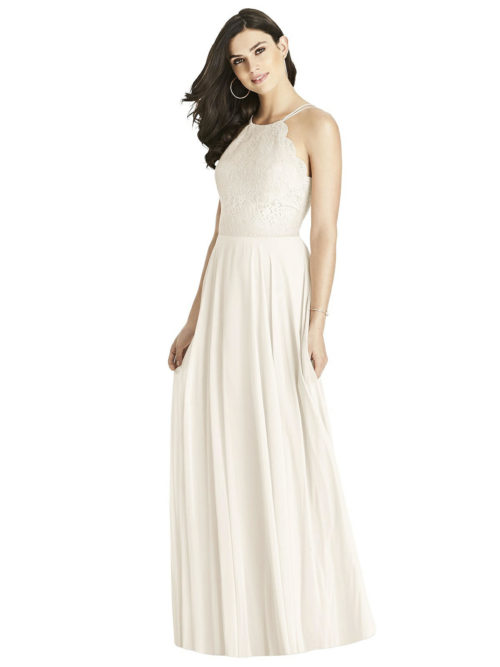 Ivory White Bridesmaids Dress