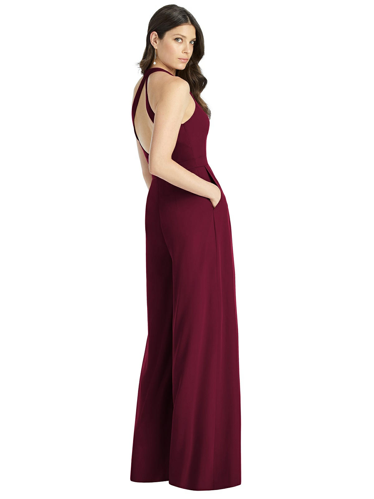 Cabernet Red Bridesmaids Dress