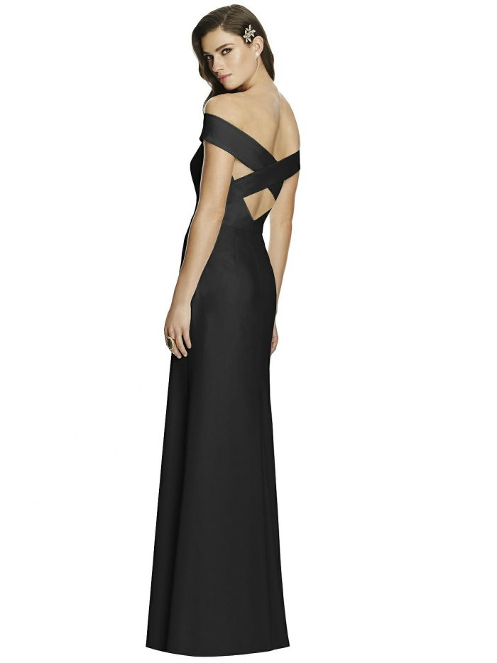 Black Bridesmaids Dress