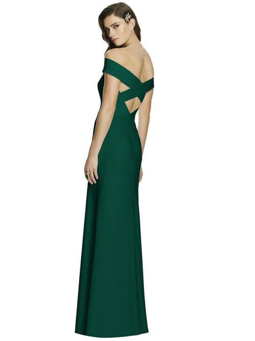 Hunter Green Bridesmaids Dress