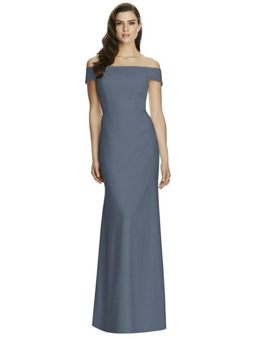 Silverstone Grey Bridesmaids Dress