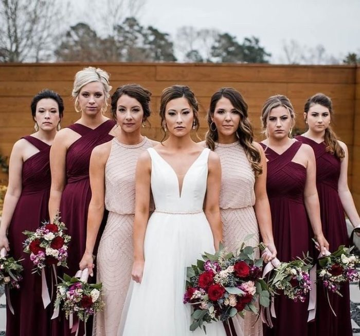 Bridesmaids only real brides