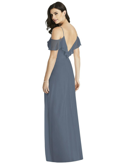 Silverstone Grey Bridesmaids Dress