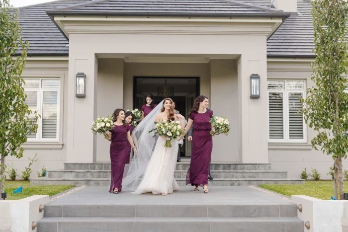 Bridesmaids Only Adrianna Papell Real Bridesmiads Nina