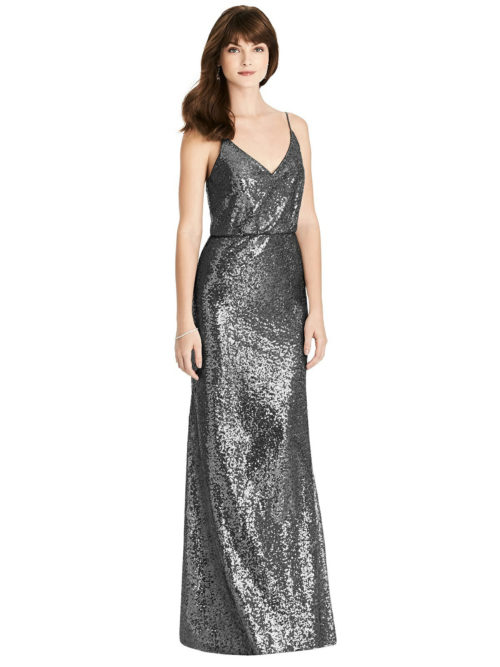 Stardust Grey Bridesmaids Dress