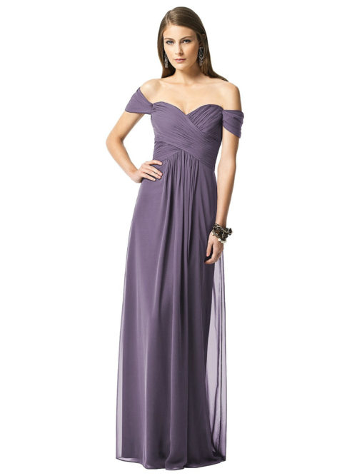 Lavender Purple Bridesmaids Dress
