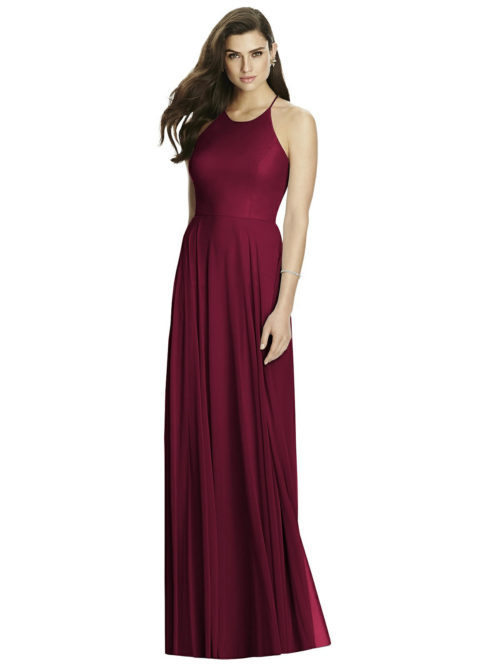Cabernet Red Bridesmaid Dress