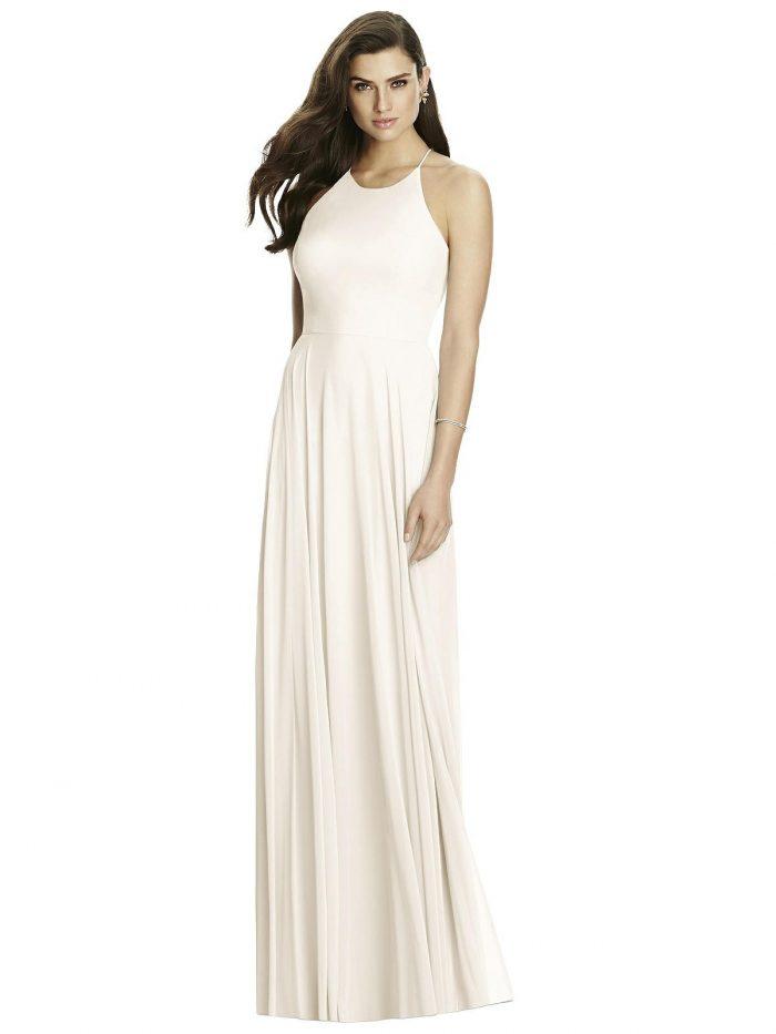 Ivory White Bridesmaid Dress