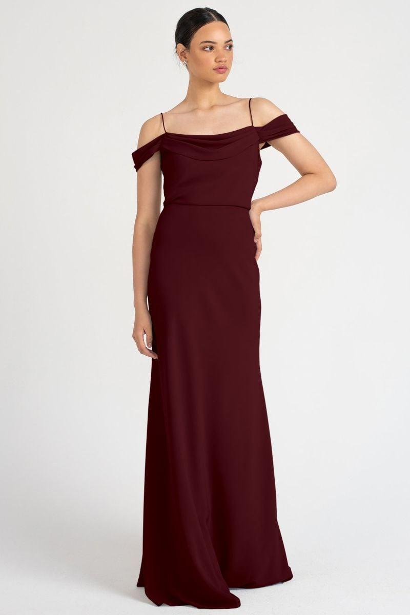 Sabine Bridesmaids Dress by Jenny Yoo - Hibiscus