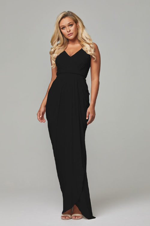 Bianca Bridesmaids Dress by Tania Olsen - Black