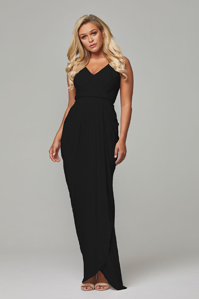 Bianca Bridesmaids Dress by Tania Olsen - Black