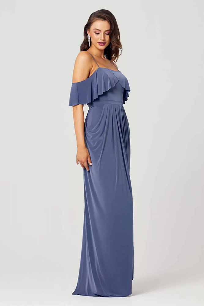 Arianna Bridesmaids Dress by Tania Olsen - Dusty Indigo