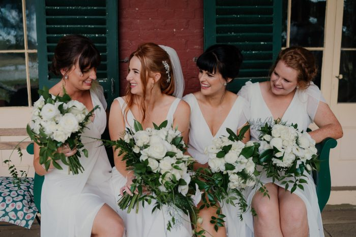 Kristie Maher Bridesmaids Real Wedding