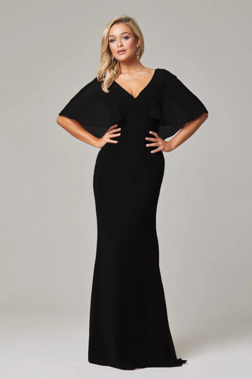 Alora Bridesmaids Dress by Tania Olsen - Black