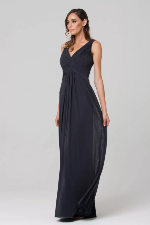 Amber Bridesmaids Dress by Tania Olsen - Charcoal