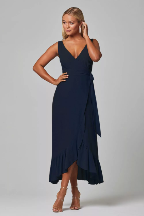 Brit Bridesmaids Dress by Tania Olsen - Navy