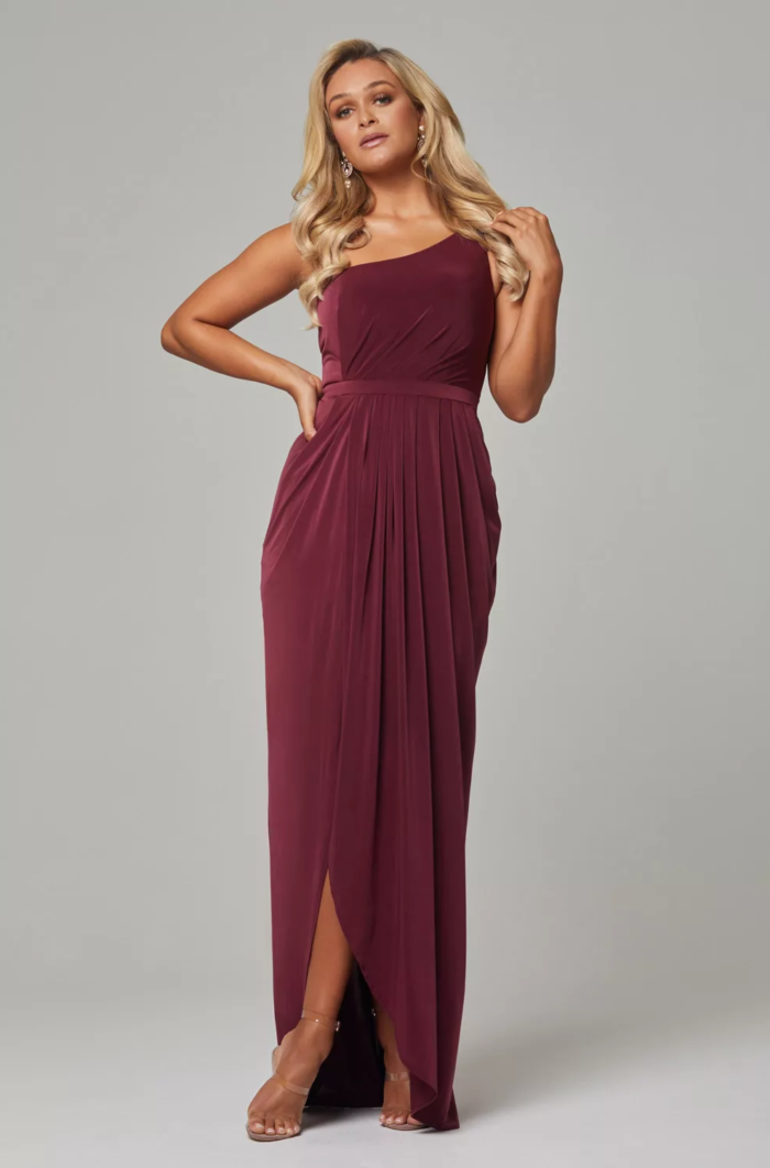Eloise Bridesmaids Dress by Tania Olsen - Wine