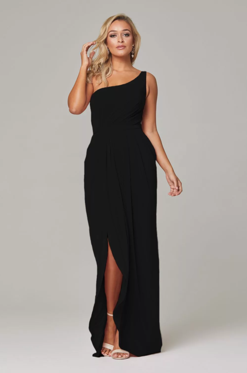 Eloise Bridesmaids Dress by Tania Olsen - Black