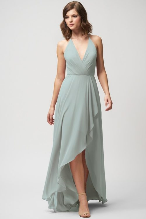 Farrah Bridesmaids Dress by Jenny Yoo - Morning Mist