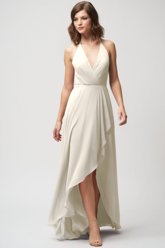 Farrah Bridesmaids Dress by Jenny Yoo - Winter White