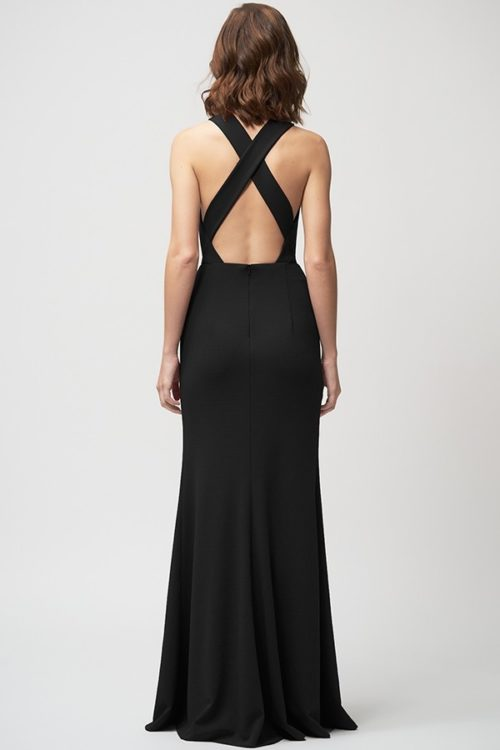 Kayleigh Bridesmaids Dress by Jenny Yoo - Black
