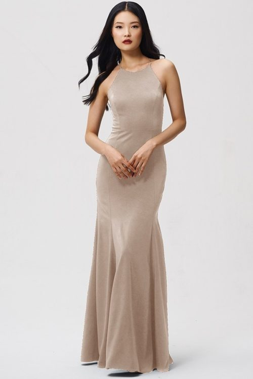 Naomi Bridesmaids Dress by Jenny Yoo - Pebble