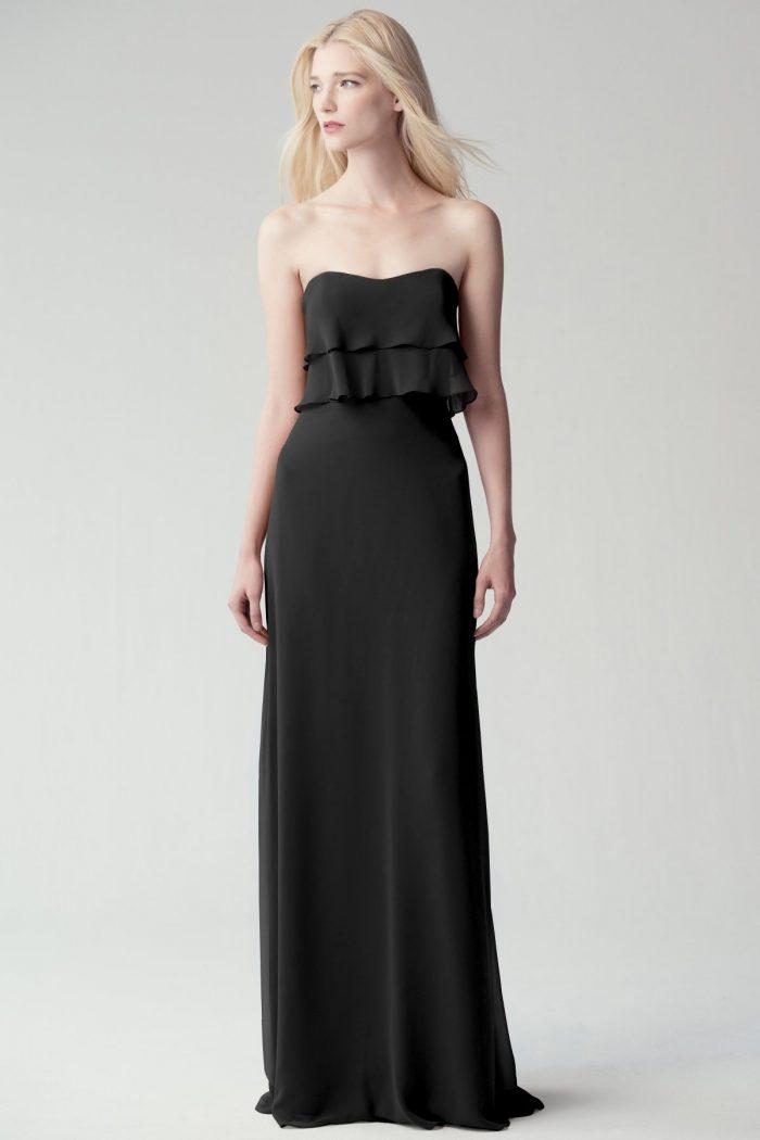 Olivia Bridesmaids Dress by Jenny Yoo - Black
