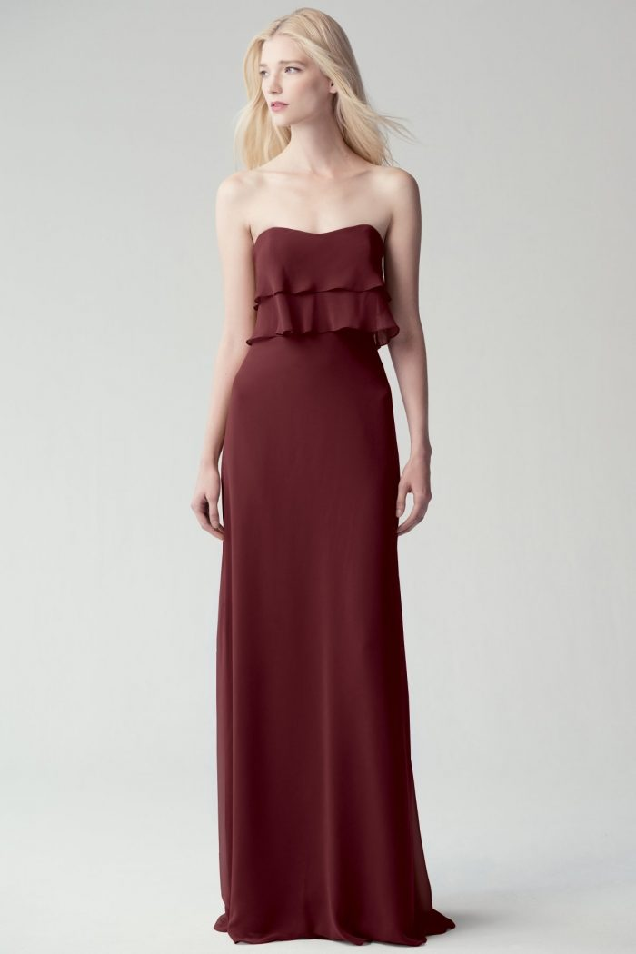 Olivia Bridesmaids Dress by Jenny Yoo - Hibiscus