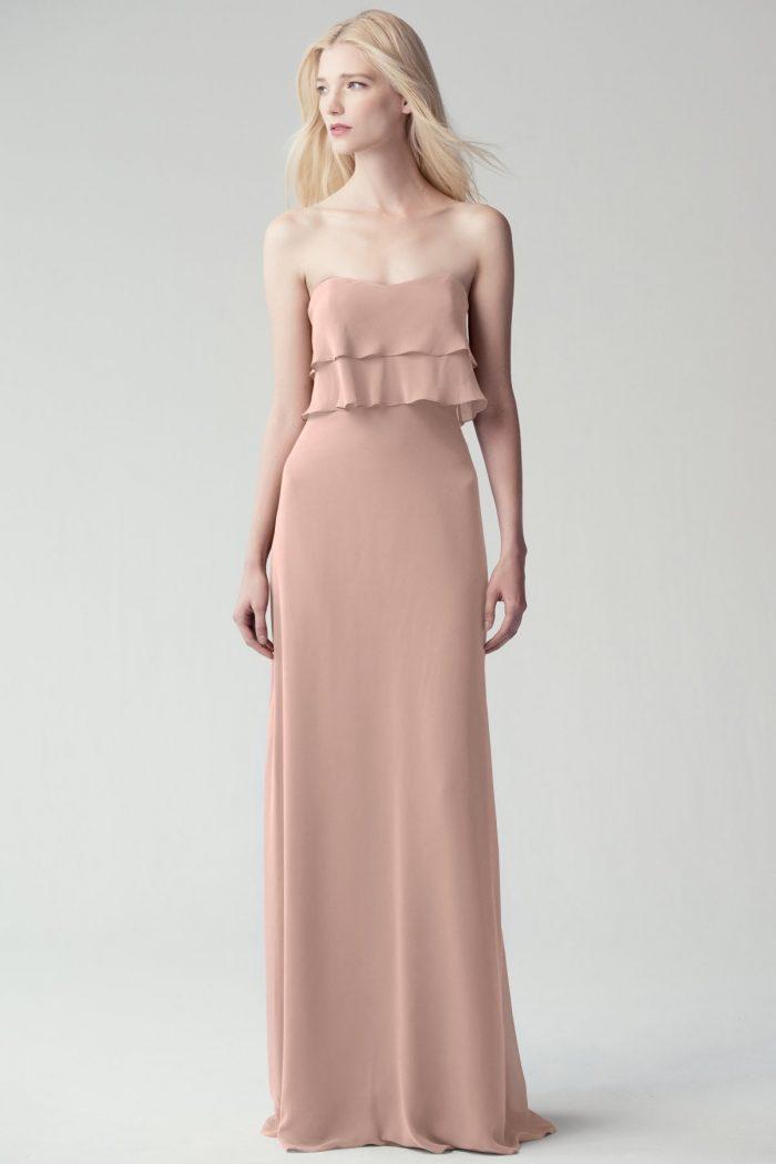 Olivia Bridesmaids Dress by Jenny Yoo - Whipped Apricot