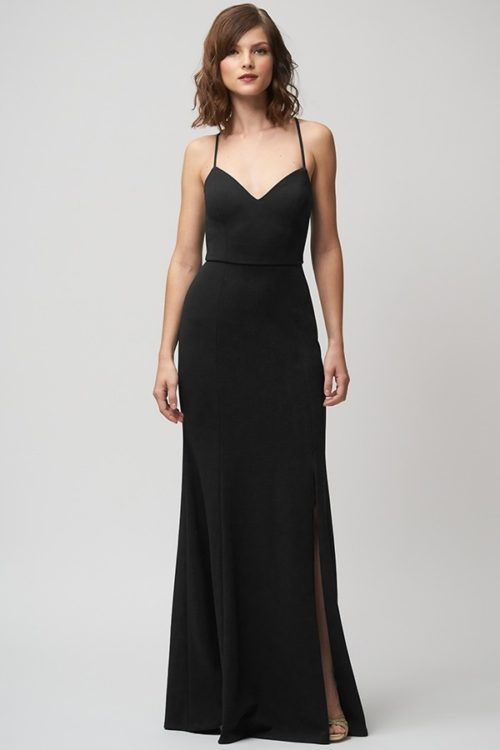Reese Bridesmaids Dress by Jenny Yoo - Black