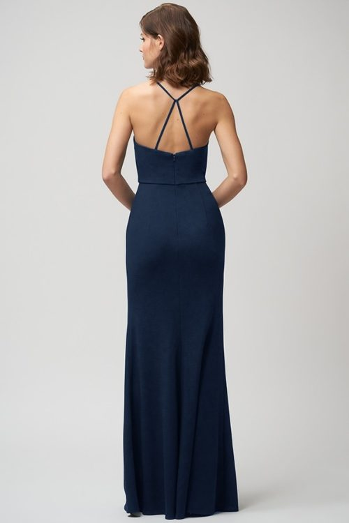 Reese Bridesmaids Dress by Jenny Yoo - Midnight