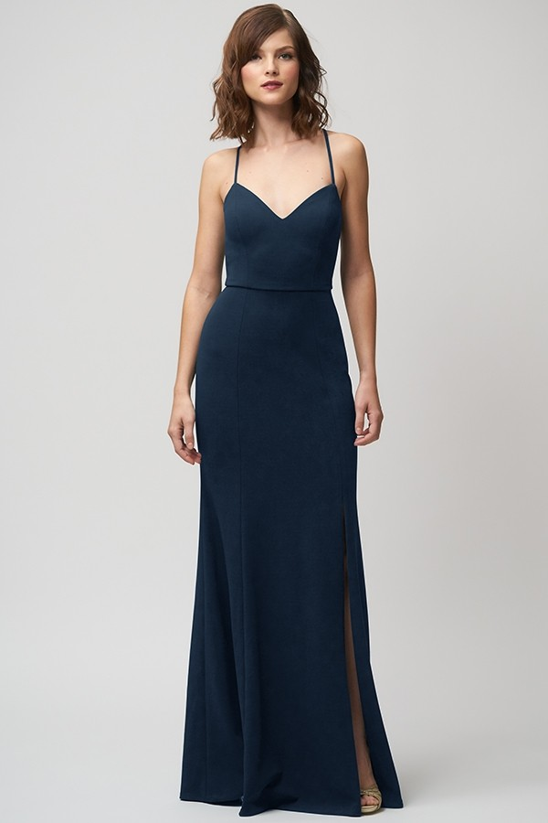 Reese Bridesmaids Dress by Jenny Yoo - Midnight