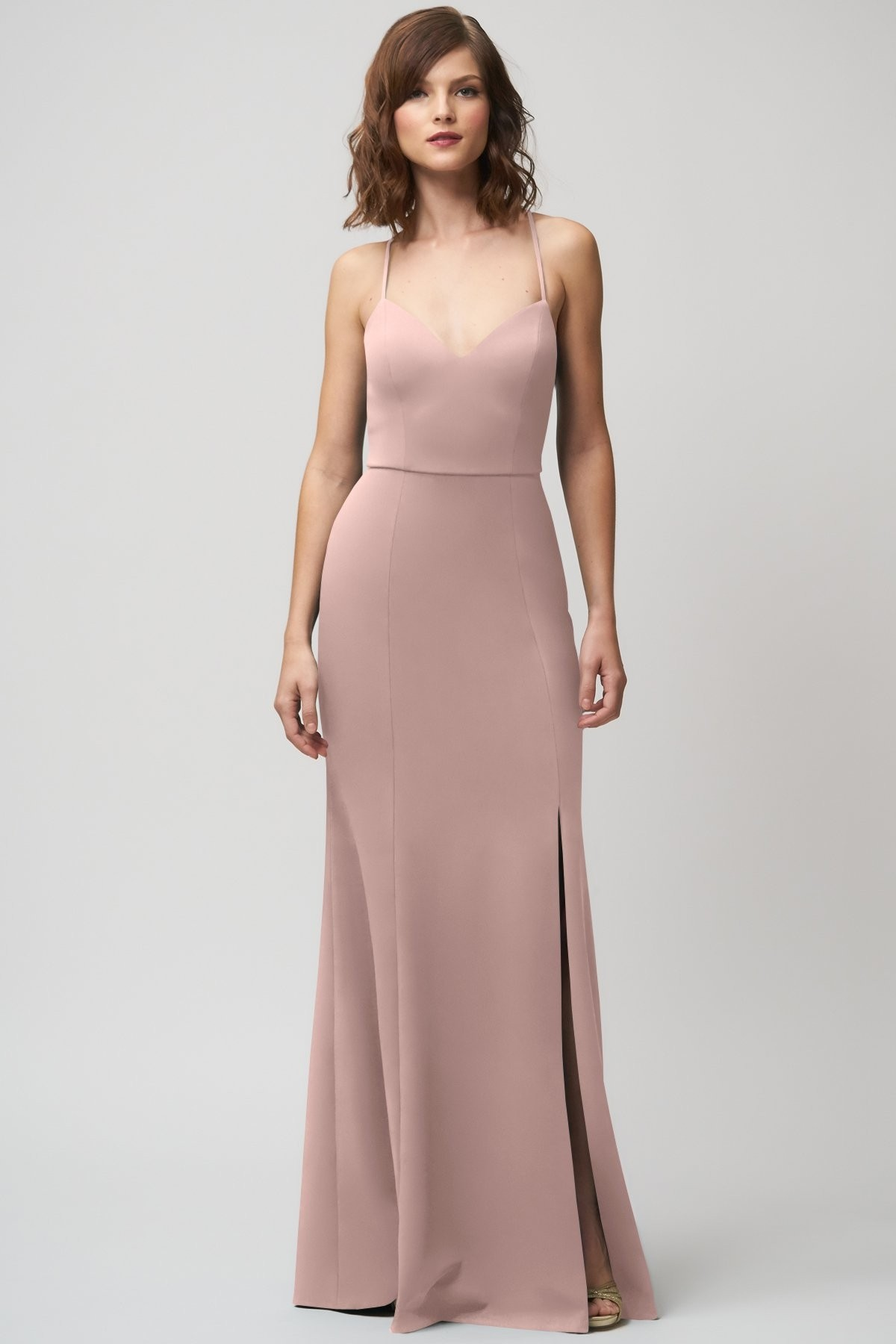 Reese Bridesmaids Dress by Jenny Yoo - Whipped Apricot