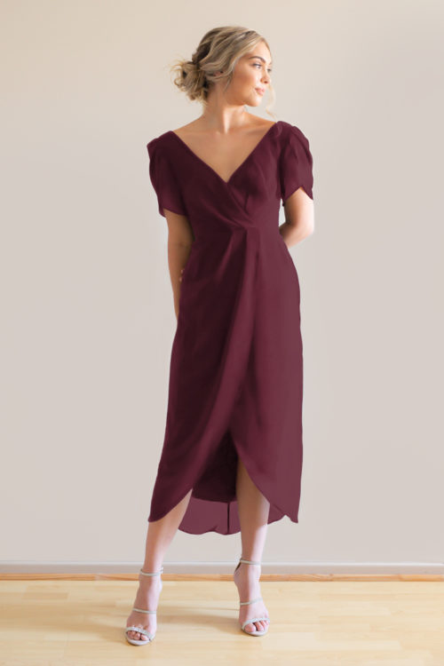Zara Bridesmaids Dress by Talia Sarah in Mahogany
