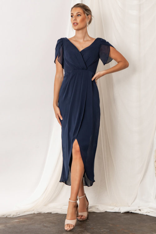 Zara Navy Blue Bridesmaid Dresses by Talia Sarah