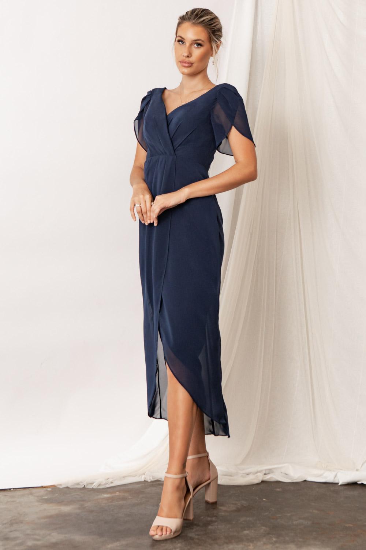Zara Navy Blue Bridesmaid Dresses by Talia Sarah