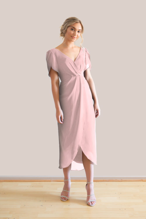 Talia Sarah Zara Ballerina Bridesmaids Dress