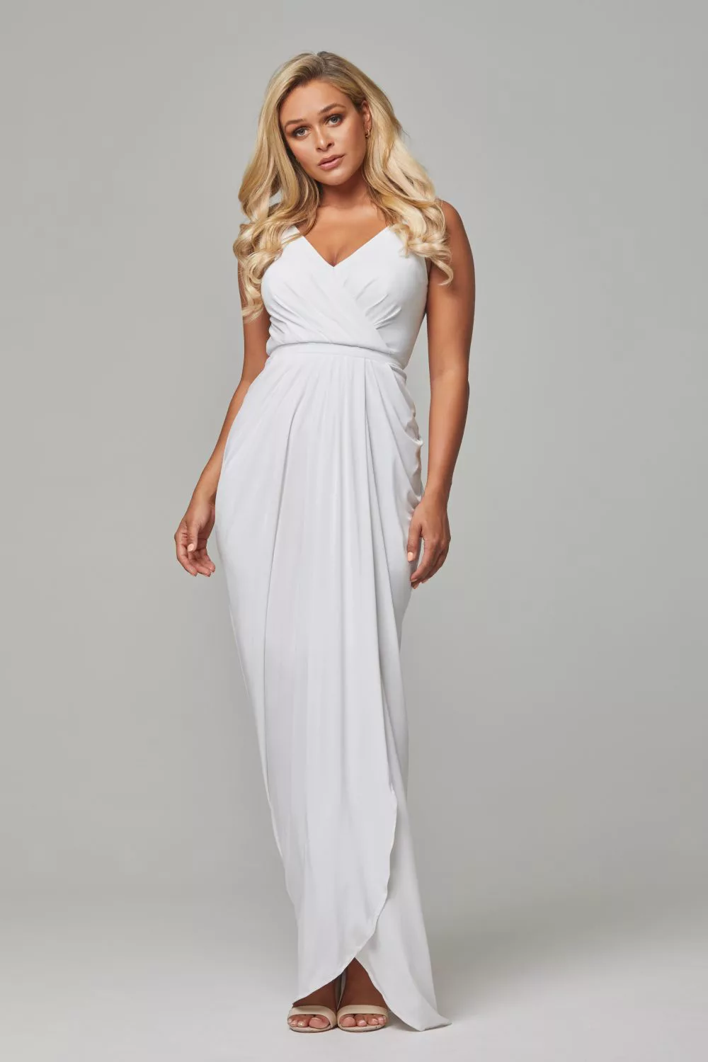 Bianca Bridesmaids Dress by Tania Olsen - White