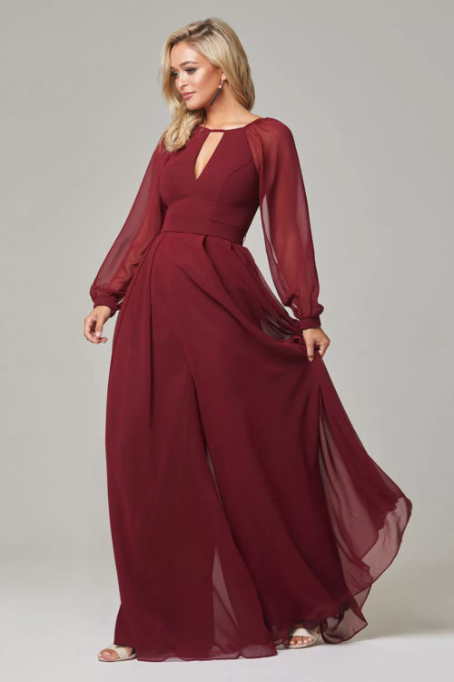 Sariyah Bridesmaids Dress by Tania Olsen - Merlot