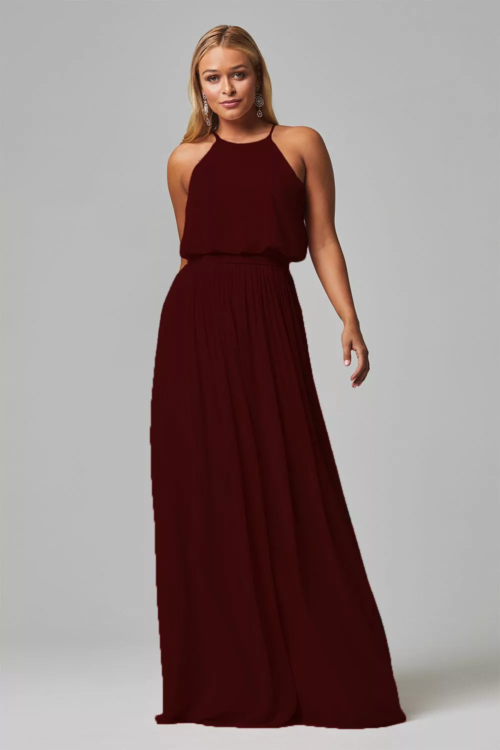 Sylvia Bridesmaids Dress by Tania Olsen - Merlot