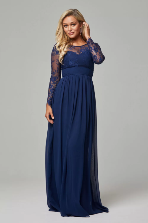 Vallaris Bridesmaids Dress by Tania Olsen - Navy