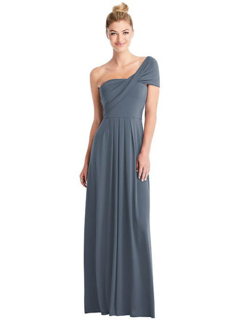 Convertible Loop Bridesmaids Dress by Carlos Saavedra - Silverstone