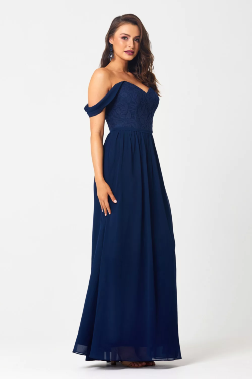 TO828 Bridesmaids Dress by Tania Olsen - Navy