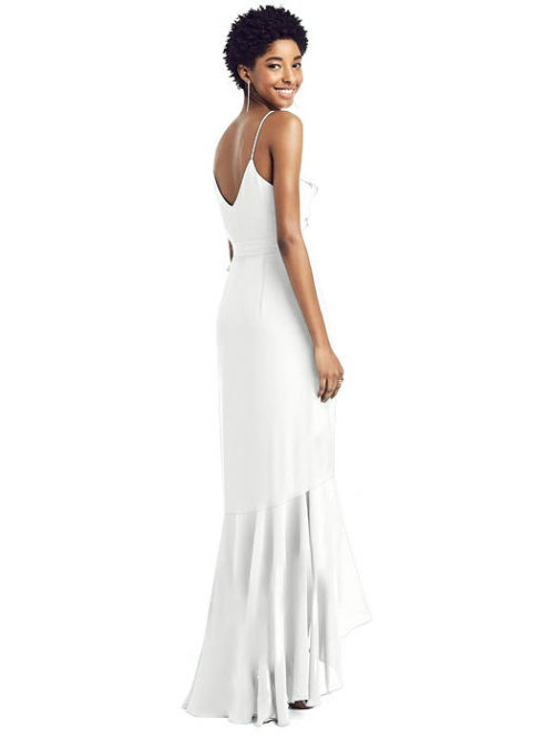 Sammie White Bridesmaids Dress by Dessy