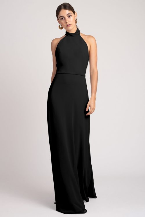 Brett Bridesmaids Dress by Jenny Yoo - Black